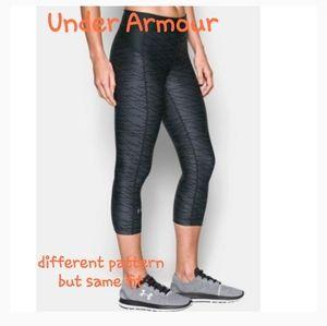 ❣2/$40 Under Armour Heatgear compression tights xs